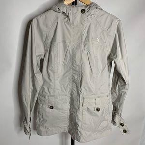 The North Face Tan Creme Light Pea Coat Jacket